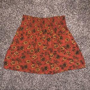 Mossimo Supply Co. Skirts - Rusty Sunflower Skirt